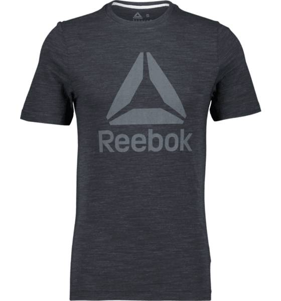Image of Reebok So Marble Tee M T-paidat BLACK  - BLACK - Size: Extra Large