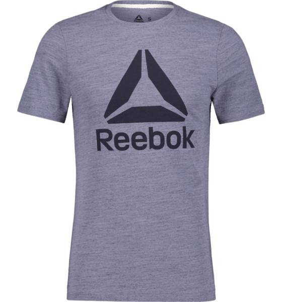 Image of Reebok So Marble Tee M T-paidat BLUE MEL  - BLUE MEL - Size: 2X-Large
