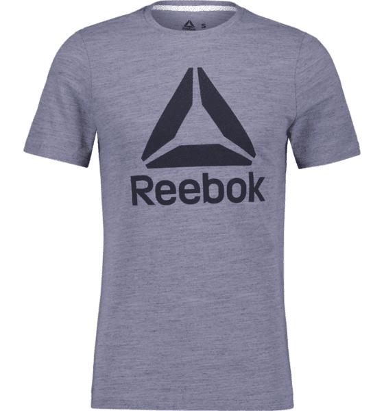 Image of Reebok So Marble Tee M T-paidat BLUE MEL  - BLUE MEL - Size: Large