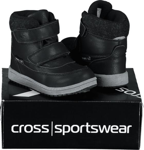 Image of Cross Sportswear So Stavanger H Kid Varsikengät & saappaat BLACK (Sizes: 29)