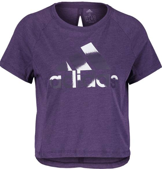 Image of Adidas So Boxy Bos Tee W Treeni LEGEND PURPLE  - LEGEND PURPLE - Size: Extra Small