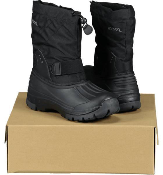 Image of Racoon So Polar Boot Jr Varsikengät & saappaat BLACK (Sizes: 25)