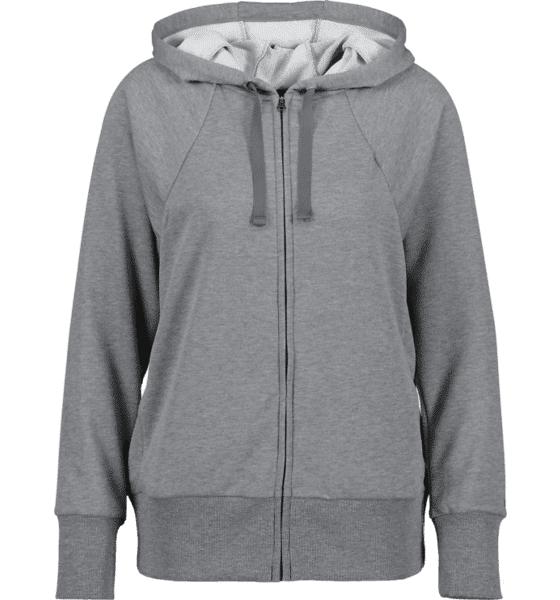 Image of Nike So Flc Hoodie Fz W Treeni CARBON GREY/BLACK (Sizes: XS)