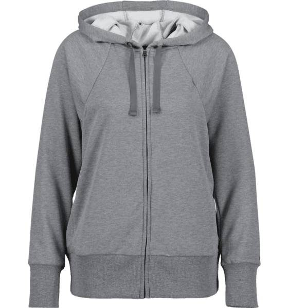 Image of Nike So Flc Hoodie Fz W Treeni CARBON GREY/BLACK  - CARBON GREY/BLACK - Size: Extra Small