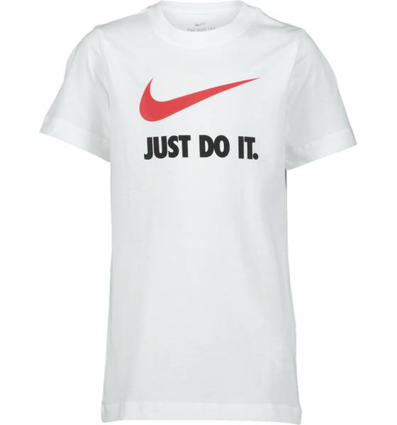 Nike So Jd Swosh Tee Jr T-paidat & topit WHITE  - WHITE - Size: Extra Small