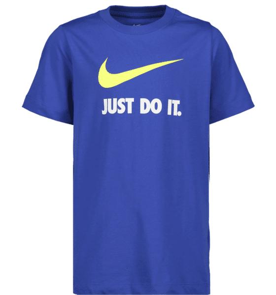 Nike So Jd Swosh Tee Jr T-paidat & topit ROYAL  - ROYAL - Size: Extra Small
