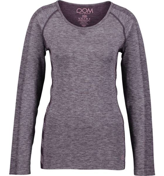 Image of Drop Of Mindfulness So Elena Ls Tee W Treeni DARK ROSE  - DARK ROSE - Size: Medium