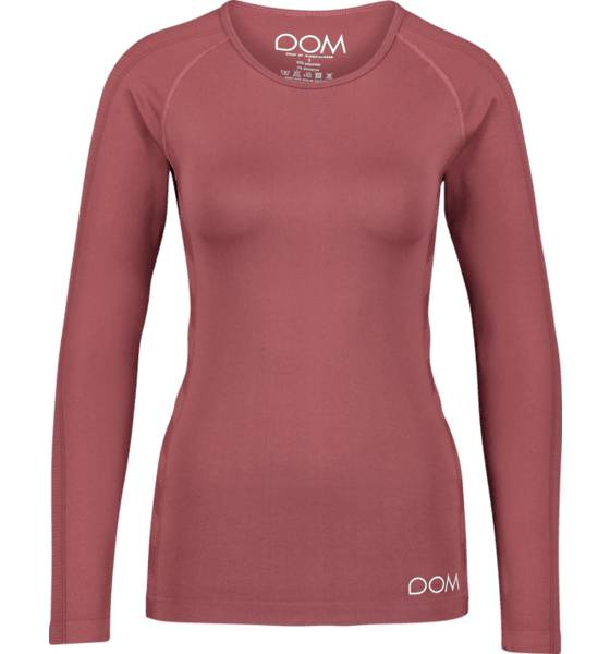 Image of Drop Of Mindfulness So Elena Ls Tee W Treeni DARK BLUSH  - DARK BLUSH - Size: Extra Small
