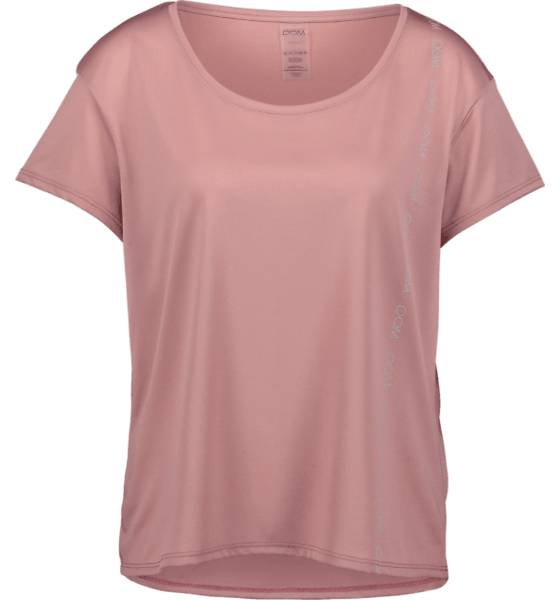 Image of Drop Of Mindfulness So Anna Loose Tee W Treeni PINK MUD  - PINK MUD - Size: Medium
