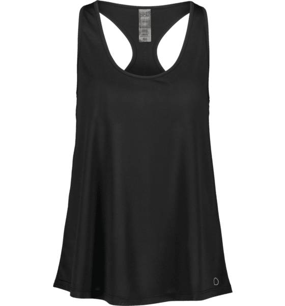 Image of Drop Of Mindfulness So May Singlet W Treeni BLACK (Sizes: XS)