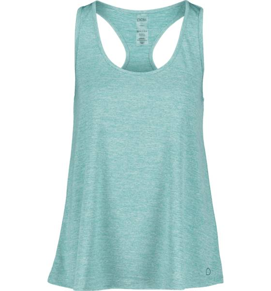Image of Drop Of Mindfulness So May Singlet W Treeni LT GREEN MELANGE  - LT GREEN MELANGE - Size: Large