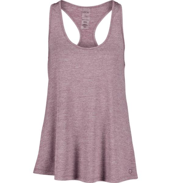 Image of Drop Of Mindfulness So May Singlet W Treeni ROSE MELANGE  - ROSE MELANGE - Size: Extra Small