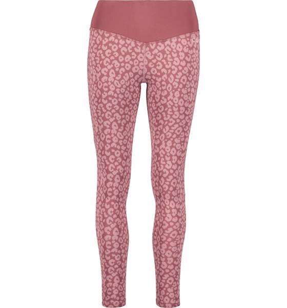 Image of Drop Of Mindfulness So Bow Tights W Treeni BLUSH LEO  - BLUSH LEO - Size: Extra Large