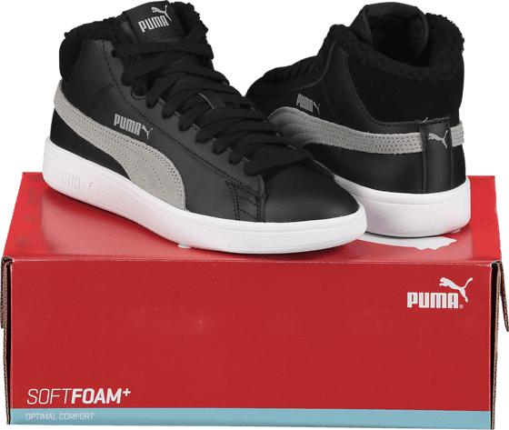 Image of Puma So Smash V2 Mid Wtr L Varsikengät & saappaat BLACK/GREY (Sizes: UK 7.5)