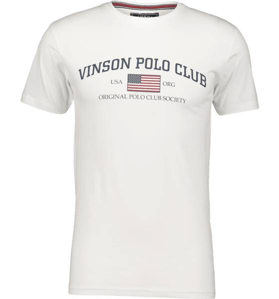 Image of Vinson Polo Club So Henley Tee M T-paidat WHITE  - WHITE - Size: Extra Large