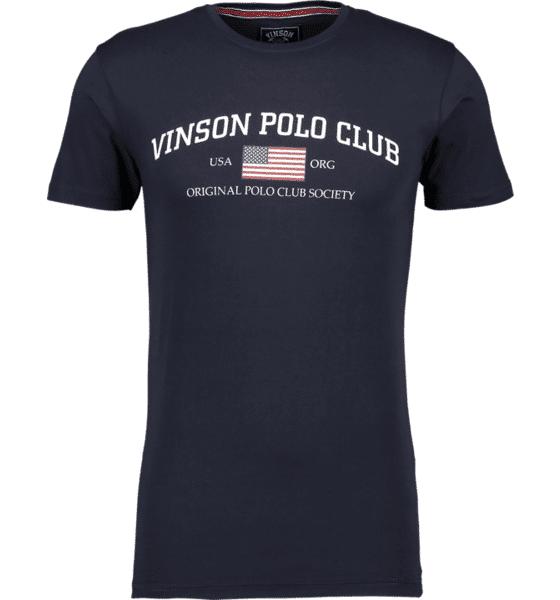 Image of Vinson Polo Club So Henley Tee M T-paidat DARK SAPPHIRE  - DARK SAPPHIRE - Size: Extra Large