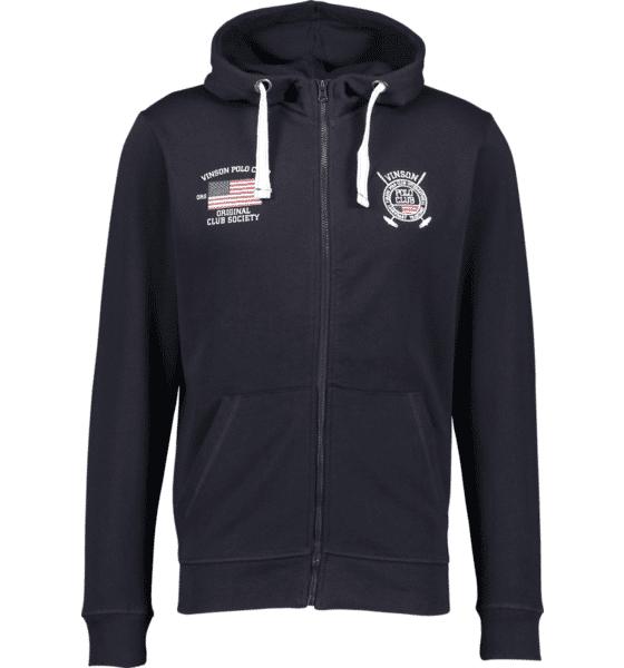 Image of Vinson Polo Club So Hugh Zip Hood M Yläosat DARK SAPPHIRE (Sizes: S)