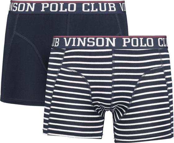 Image of Vinson Polo Club So Haley 2-pack M Alusvaatteet DARK SAPPHIRE (Sizes: XXL)