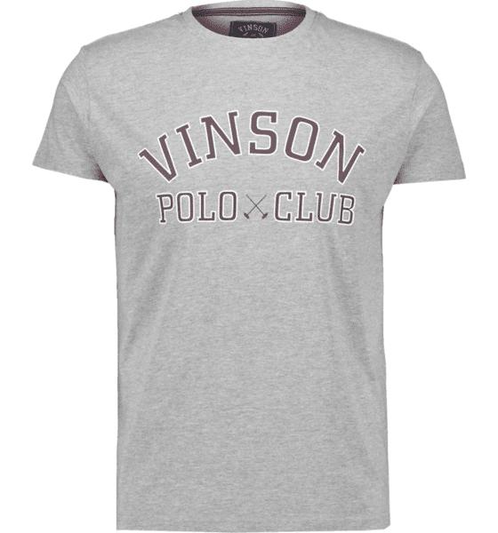 Image of Vinson Polo Club So Kim Tee M T-paidat GREY MELANGE  - GREY MELANGE - Size: Extra Large