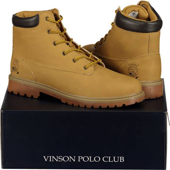 Image of Vinson Polo Club So Helenius Boot M Varsikengät & saappaat YELLOW (Sizes: 39)