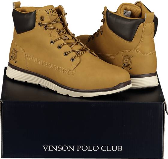 Image of Vinson Polo Club So Huxley Boot M Varsikengät & saappaat YELLOW (Sizes: 38)
