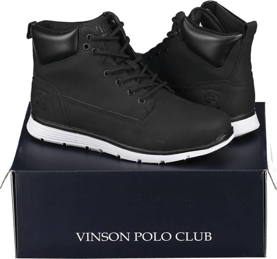 Image of Vinson Polo Club So Huxley Boot M Varsikengät & saappaat BLACK (Sizes: 39)