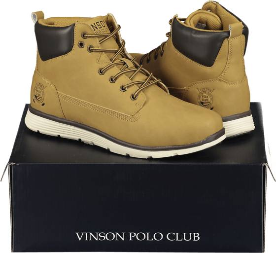 Image of Vinson Polo Club So Huxley Boot M Varsikengät & saappaat BROWN (Sizes: 38)