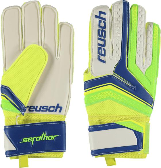 Reusch So Serathor Glv Jalkapallo ELECTRIC BLUE/GECK  - ELECTRIC BLUE/GECK - Size: 7