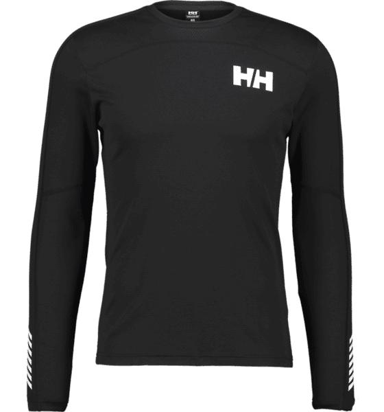 Helly Hansen So Lifa Crew M Aluskerrastot BLACK  - BLACK - Size: Small