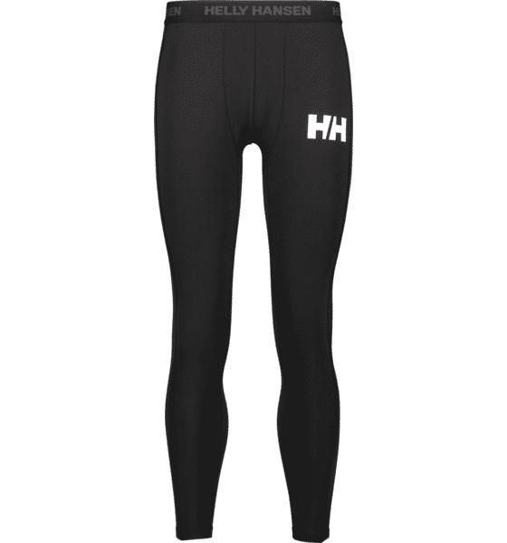 Helly Hansen So Lifa Pant M Housut BLACK  - BLACK - Size: Small