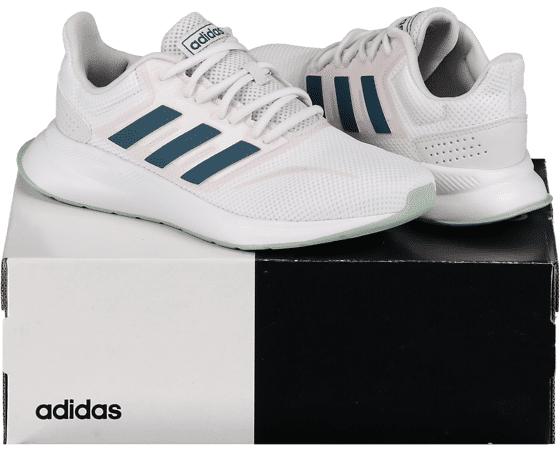 Image of Adidas So Runfalcon W Juoksukengät WHITE/BLUE  - WHITE/BLUE - Size: UK 3.5