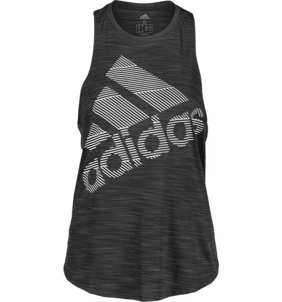 Image of Adidas So Bos Logo Tank W Treeni BLACK - BLACK - Size: Extra Small