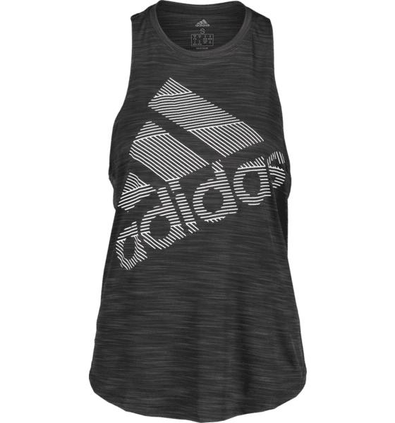 Image of Adidas So Bos Logo Tank W Treeni BLACK  - BLACK - Size: Small