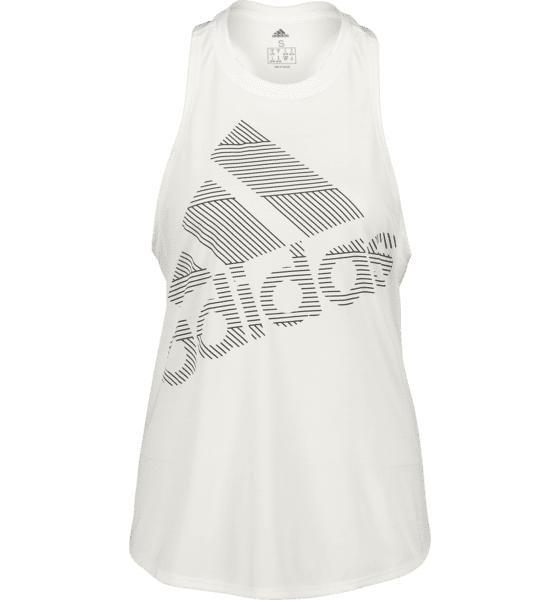 Image of Adidas So Bos Logo Tank W Treeni WHITE  - WHITE - Size: Extra Large