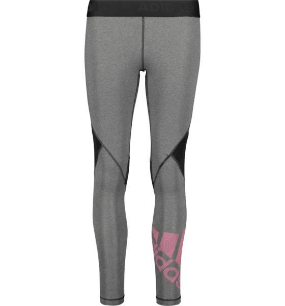 Image of Adidas So Ask Bos Tight W Treeni BLACK/PINK (Sizes: XS)