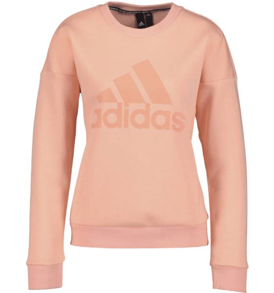Image of Adidas So Mh Bos Crew W Yläosat GLOW PINK  - GLOW PINK - Size: Extra Large