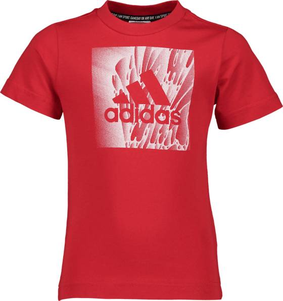 Image of Adidas So Mh Box Tee Jr T-paidat & topit RED  - RED - Size: 152