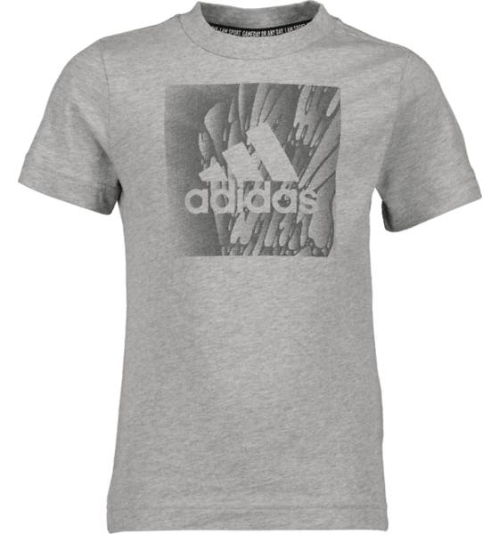 Image of Adidas So Mh Box Tee Jr T-paidat & topit GREY  - GREY - Size: 116