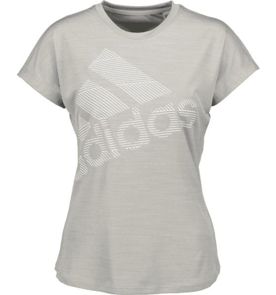 Image of Adidas So Ss Bos Logo Tee W Topit MEDIUM GREY  - MEDIUM GREY - Size: Medium