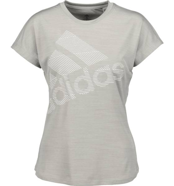 Image of Adidas So Ss Bos Logo Tee W Topit MEDIUM GREY (Sizes: L)