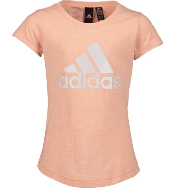Image of Adidas So Id Winner Tee Jr T-paidat & topit GLOW PINK  - GLOW PINK - Size: 128