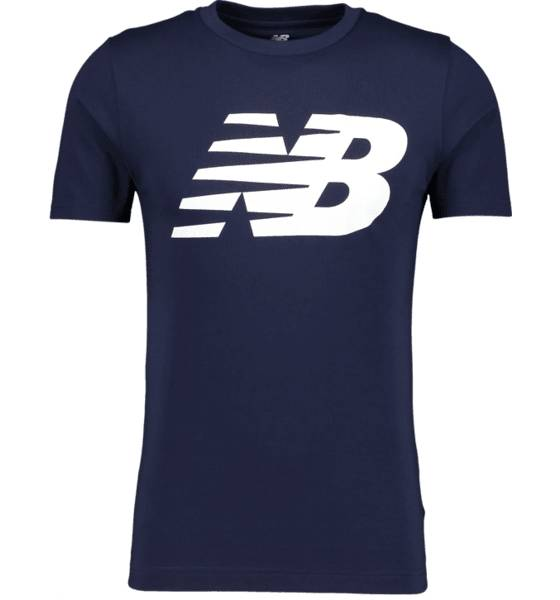 Image of New Balance So Cl Nb Tee M T-paidat NAVY  - NAVY - Size: 2X-Large