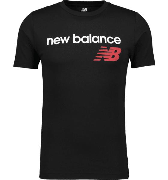 Image of New Balance So Heritage Tee M T-paidat BLACK  - BLACK - Size: Small