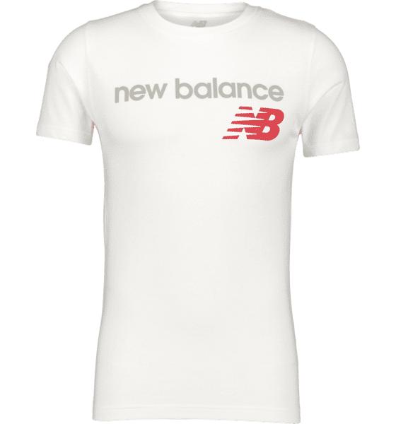 New Balance So Heritage Tee M T-paidat WHITE  - WHITE - Size: Small