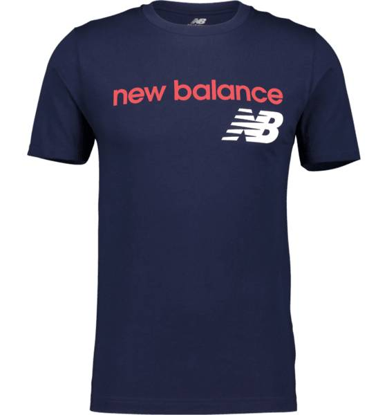New Balance So Heritage Tee M T-paidat NAVY  - NAVY - Size: Small