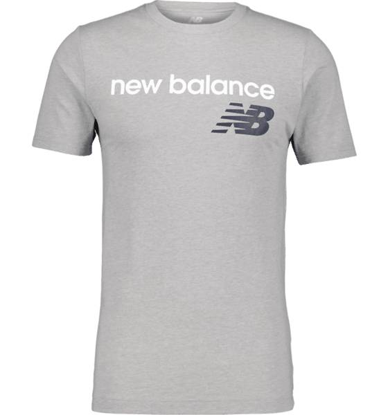New Balance So Heritage Tee M T-paidat ATHLETIC GREY  - ATHLETIC GREY - Size: Small