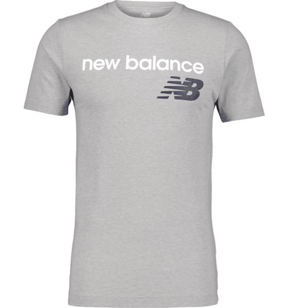 Image of New Balance So Heritage Tee M T-paidat ATHLETIC GREY  - ATHLETIC GREY - Size: 2X-Large