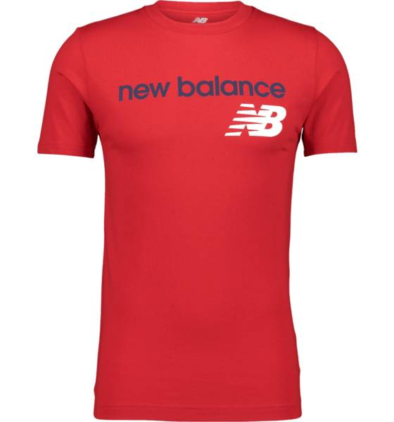 Image of New Balance So Heritage Tee M T-paidat TEAM RED  - TEAM RED - Size: Extra Large