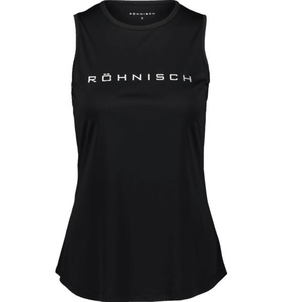 Image of Röhnisch So Motion Singlet W Treeni BLACK  - BLACK - Size: Extra Large