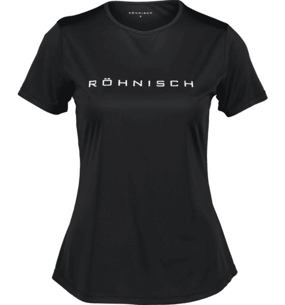 Image of Röhnisch So Motion Tee W Treeni BLACK  - BLACK - Size: Medium